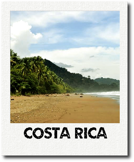 Costa Rica Polaroid